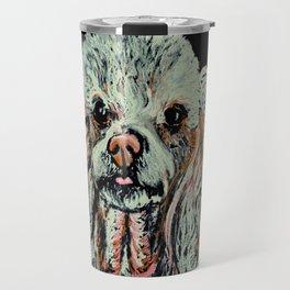 Toy Poodle portrait Travel Mug