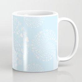 Snow & Ice Love Symbol Mandala Coffee Mug