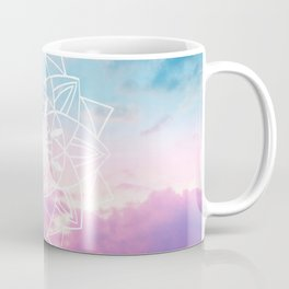 Star Mandala Unicorn Pastel Clouds #3 #decor #art #society6 Coffee Mug