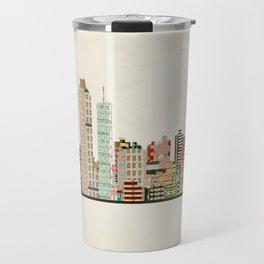 atlanta skyline Travel Mug