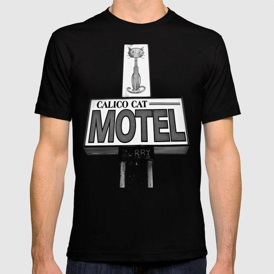 Cool cat motel T-shirt