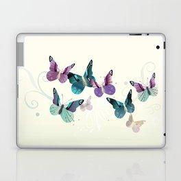 Butterfly dance Laptop & iPad Skin