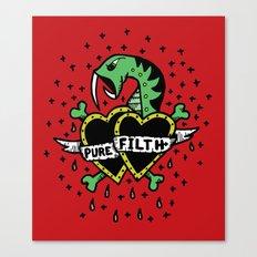 Pure Filth Canvas Print