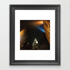 'Chrysler Building Night' Framed Art Print