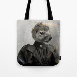 Miss Squirrel Tote Bag