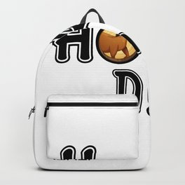 Horse Dad Funny Horse Riding Fathers Gifts Backpack