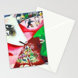 Marc Chagall Me and the Village Stationery Cards
