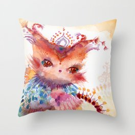 Vespertine Throw Pillow
