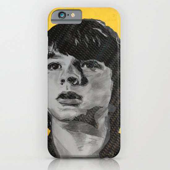Joel Courtney  Super 8 iPhone & iPod Case