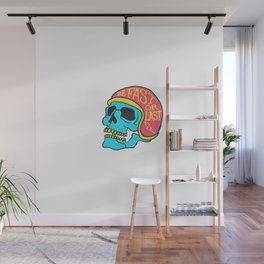 fast or last color Wall Mural