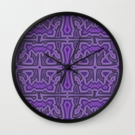 L - pattern b Wall Clock