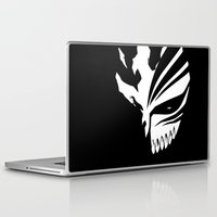bleach Laptop & iPad Skins featuring Bleach- Ichigo Kurosaki Hollow Mask by Ren Flexx