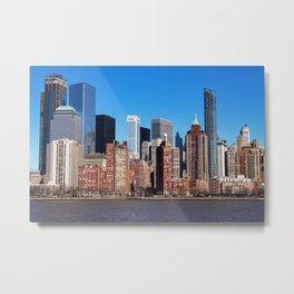 skyscraper architecture city Metal Print