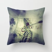 game Throw Pillows featuring Game by Jean-François Dupuis
