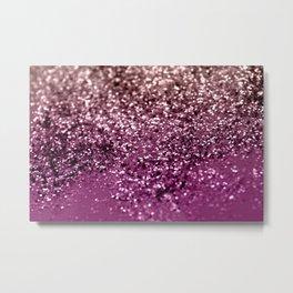 Sparkling BLACKBERRY CHAMPAGNE Lady Glitter #2 #decor #art #society6 Metal Print