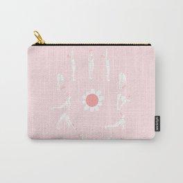 sun flower salutation Carry-All Pouch