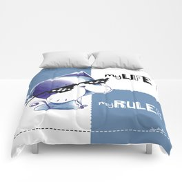 MY LIFE, MY RULES Comforters
