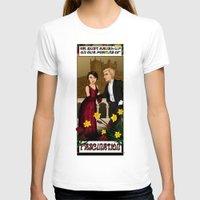 downton abbey T-shirts featuring Downton Nouveau by mikaelak
