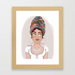 Chita Framed Art Print