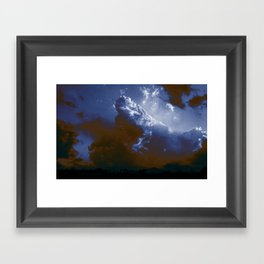 clouderton Framed Art Print