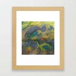 SEEWALL CHILD Framed Art Print