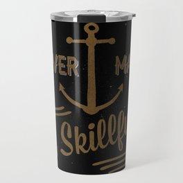 Smooth Sailing Dark Travel Mug