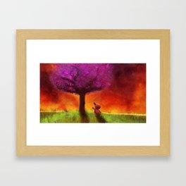 SOL KAT Framed Art Print