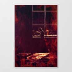 The heat is on Canvas Print