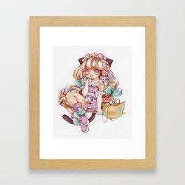 Cute Witch Framed Art Print