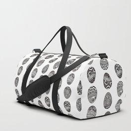 Easter egg artistic print Duffle Bag
