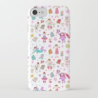 girl power iPhone & iPod Cases featuring Girl Power by Art Tree Designs