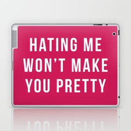 Hating Me Funny Quote Laptop & iPad Skin