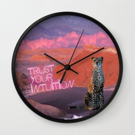 Trust Your Intuition  Wall Clock