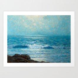 Granville Redmond - Morning on the Pacific Art Print