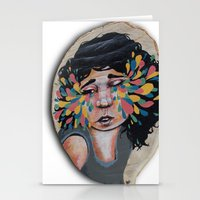 snatch Stationery Cards featuring I See In Color by Ben Geiger