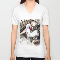 hannibal V-neck T-shirts featuring Hannibal by Juan Pablo Cortes