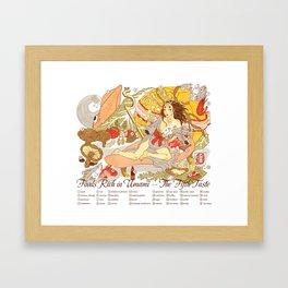 The Fifth Taste: Umami Framed Art Print
