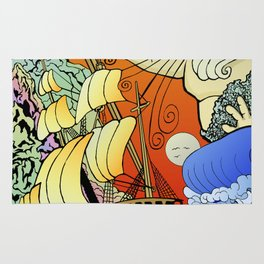 Tales of the Trident:Poseidon Rug
