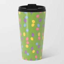 Multi Colored Balloon Pattern Travel Mug