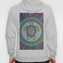 Sea Turtle Mandala Hoody