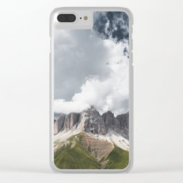 The Dolomites - Fine Art Print Clear iPhone Case