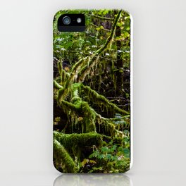 Deep in the rain forest iPhone Case
