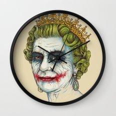 God Save the Villain! Wall Clock