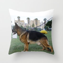 Pastore tedesco Throw Pillow