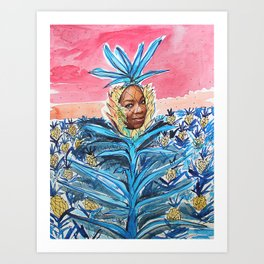Pineapple Leader Art Print