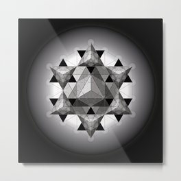 The Dark Side of The Moon Metal Print
