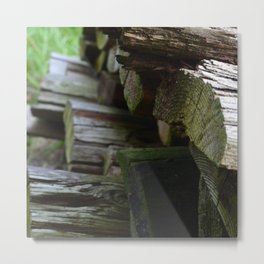Fire wood Metal Print