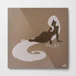 Circles In the Water Metal Print