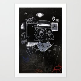 Hobo Wizard: Parts of the Whole, Hobo Wizard. Art Print