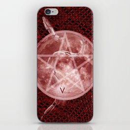 Red Moon Witch iPhone Skin